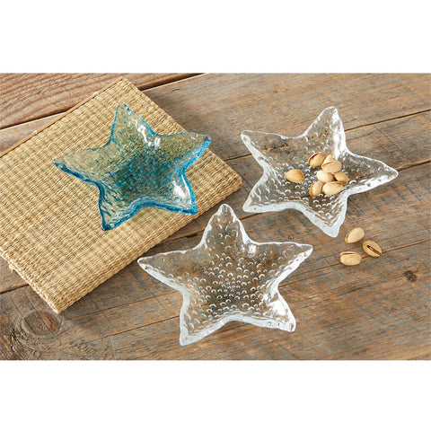 STARFISH GLASS DIP CUP SET