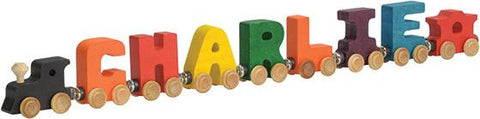 Baby Gift - Personalized Name Train