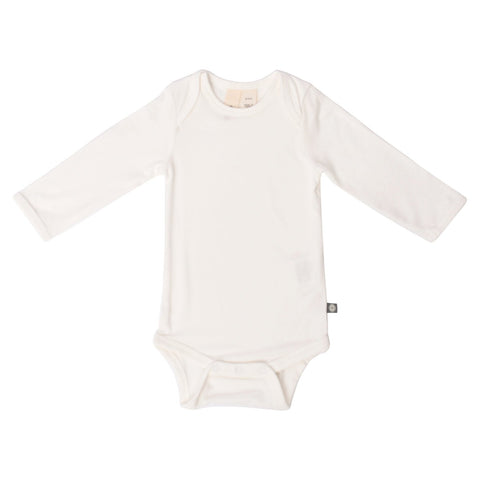 BABY ONESIE - Long Sleeve Bodysuit In Cloud