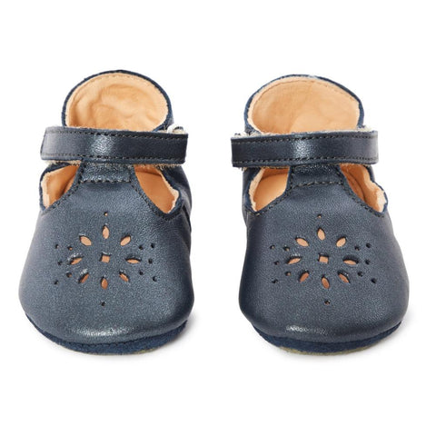 BABY SHOES - Lilly P Leather Slipper