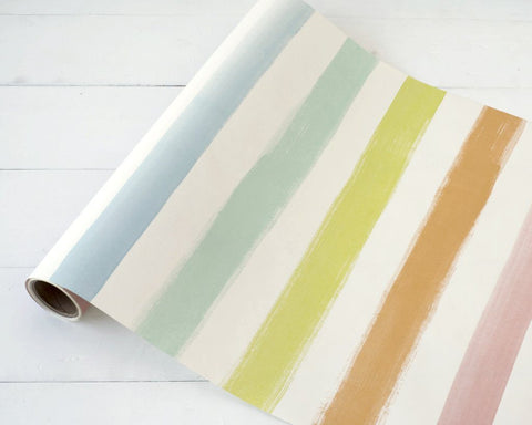 HOLIDAY DECOR - Sorbet Painted Stripe Runner