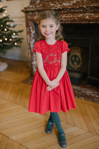 HOLIDAY DRESS - Clara Red Dress