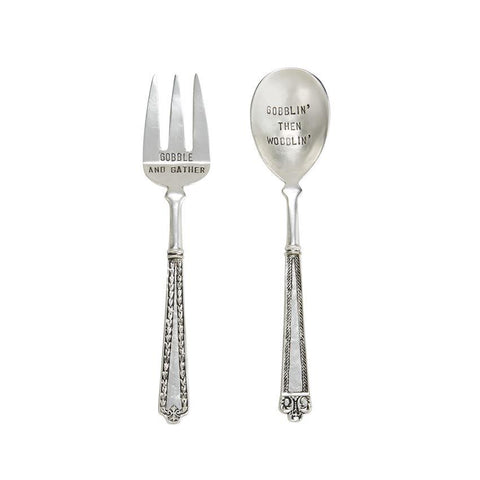 HOLIDAY HOME - SERVE IT UP THANKSGIVING SERVING UTENSIL BOXED SET