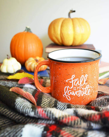 HOME ESSENTIALS - Fall Mug In Pumpkin Spice