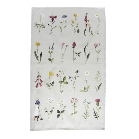 HOME ESSENTIALS - Wild Flowers Tea Towel