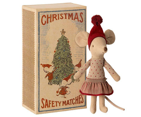 Interactive Toy - Christmas Mouse In A Box, Big Sister