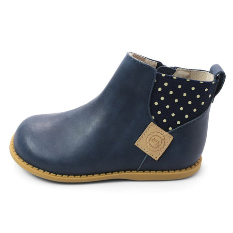Kid Shoes - Wink Boot In Navy
