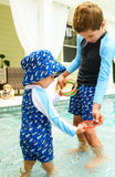 KID SWIMWEAR - OPTI BOATS VOLLEY BOARD SHORT