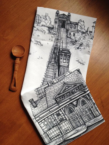 PITTSBUGH GIFT - Pittsburgh Tea Towel