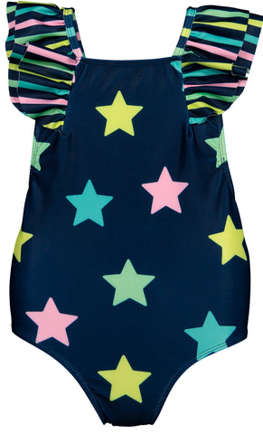 Stardust Swimsuit with Ruffle