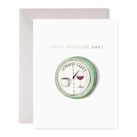 STATIONARY - MOMMY CLOCK CARD
