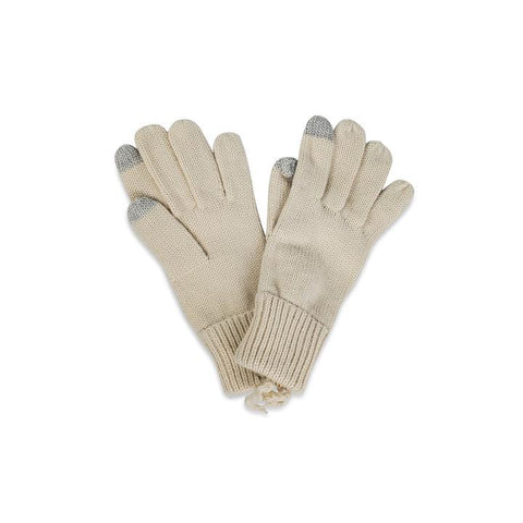 WOMEN'S ACCESSORY - Basic Texting Glove In Black Or Ivory