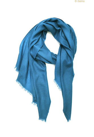 WOMEN'S ACCESSORY - Cashmere Basic Scarf In Teal