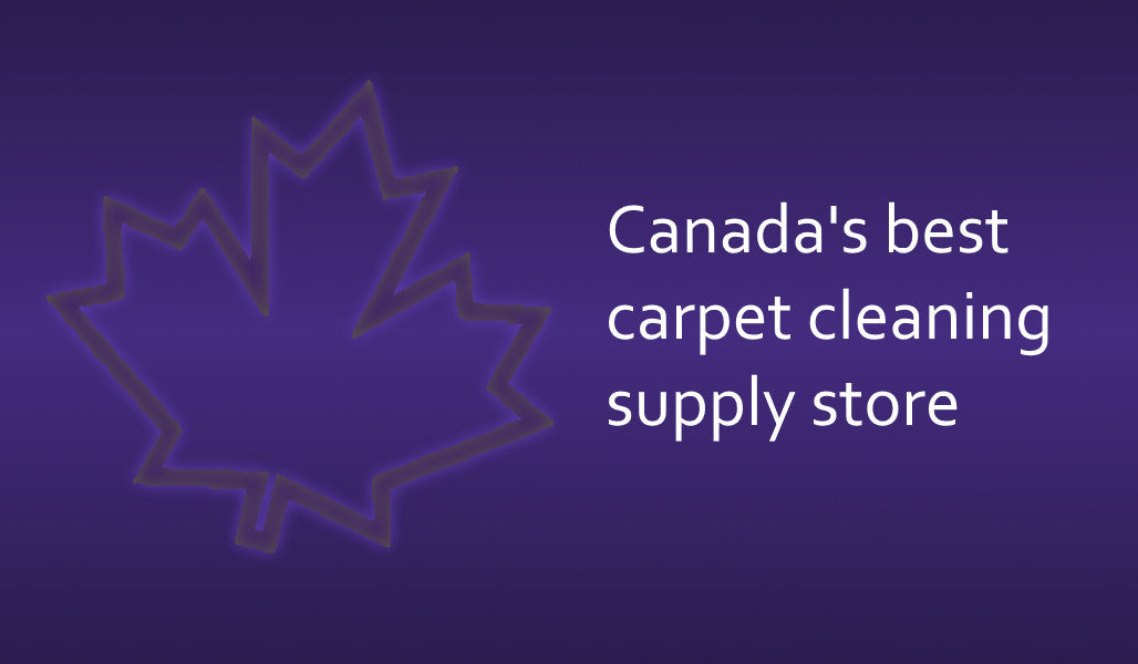 Canada's best carpet cleaning supply store