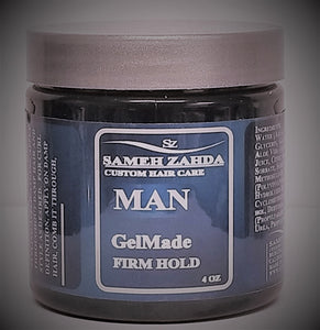 MAN GelMade (NEW!) - Advanced Hair Styling Gel Strong Hold - Sameh Zahda Custom Hair Care