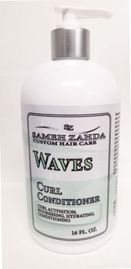 Waves Curl Conditioner (New!) - Sameh Zahda Custom Hair Care