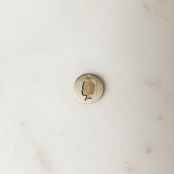The *Petite* Silhouette Coin Charm