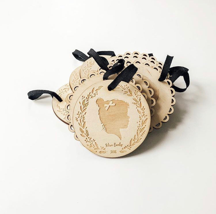 The Individual Silhouette Ornament