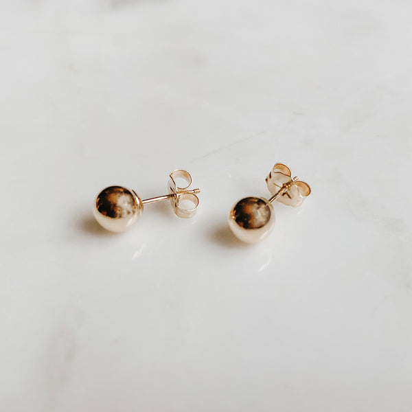 The Ball Stud Earring