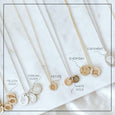 The 14k Solid Gold *Everyday* Coin Necklace