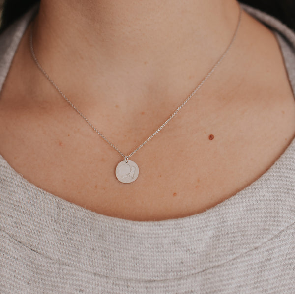 The Sterling Silver *Everyday* Coin Necklace