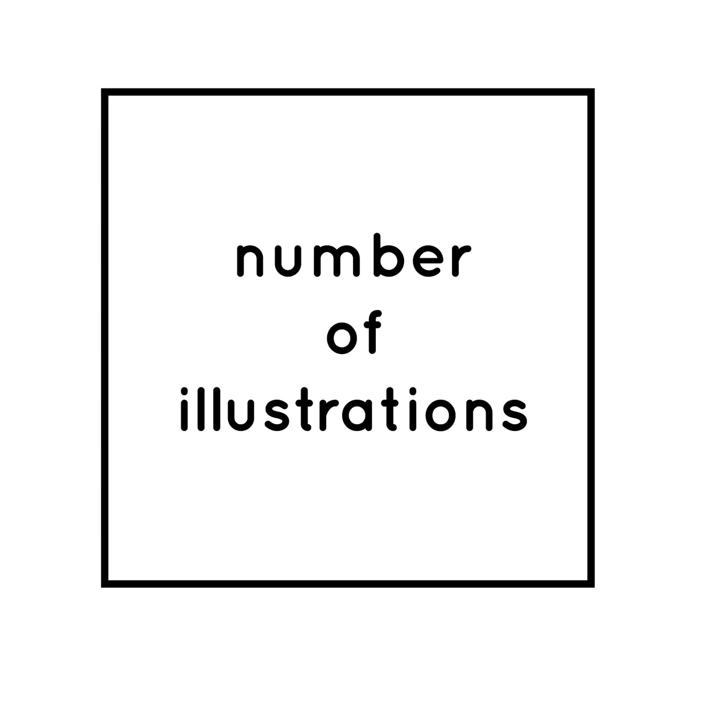 Number of Illustrations