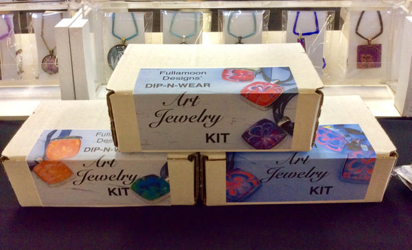 watermarble jewelry kit