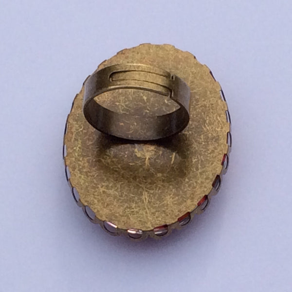Tiger Ring, Back View