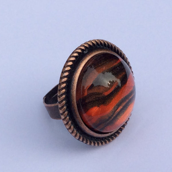 Tiger Stripe Ring