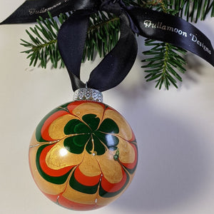 autumn flower ornament