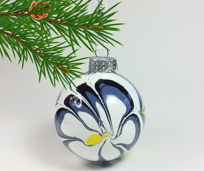 Glass Bauble Ornaments
