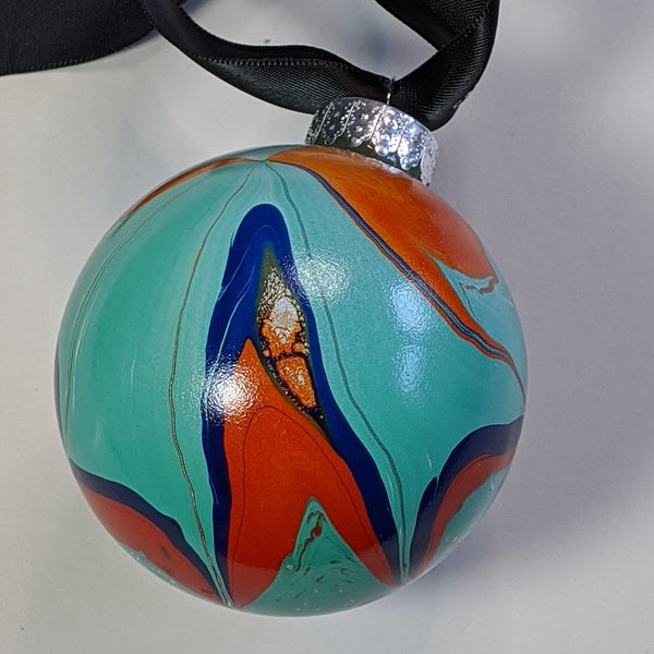 marbleized bauble