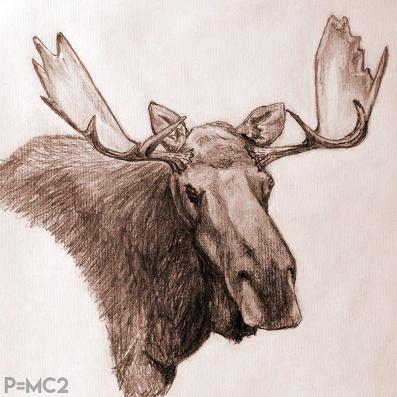 Mystic Moose-Fine Art Prints-Fullamoon Designs