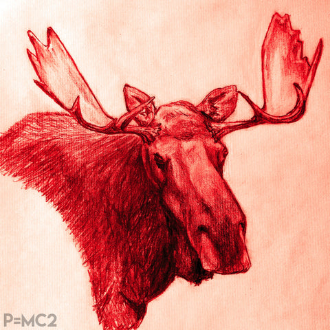 Mystic Moose-Red
