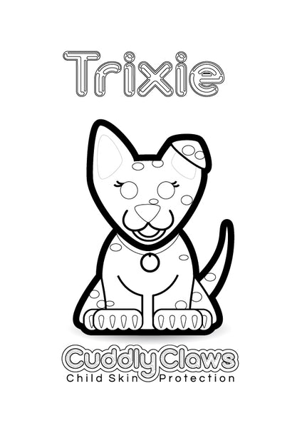 Trixie Colouring In