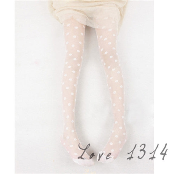 Vintage Dot Stockings