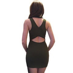 Cheeky Fitted Mini Dress