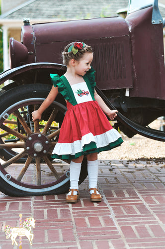 Classic Christmas Truck Dress