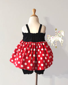 Classic Minnie Mouse Top & Short Set