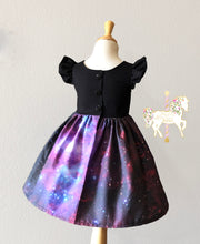 Galaxy Peplum Top or Dress