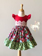 Christmas Jamboree Dress - Size 4 RTS