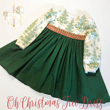Oh Christmas Tree Dress - Size 4T RTS