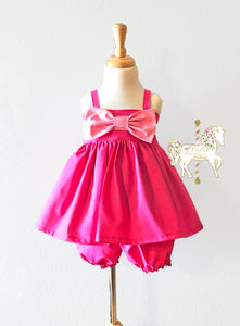 Pink Cinderella Top and Short Set