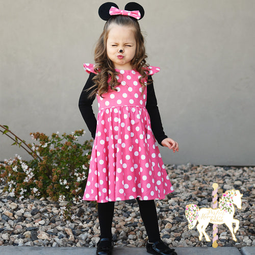Modern Minnie Mouse Party Dress