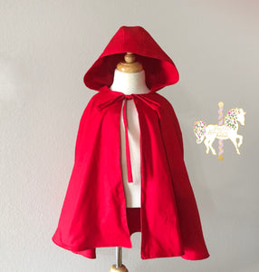 Red Riding Hood Dress & Cape