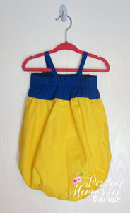 Snow White Bubble Romper
