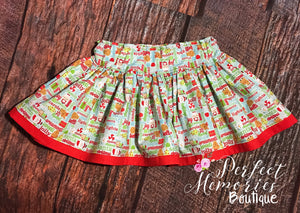 Jolly Christmas Skirt