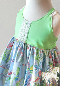 Under the Sea Top/Dress