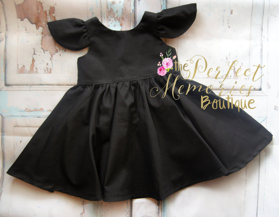 Classic Little Black Party Dress