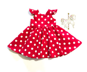 Classic Minnie Mouse Party Dress